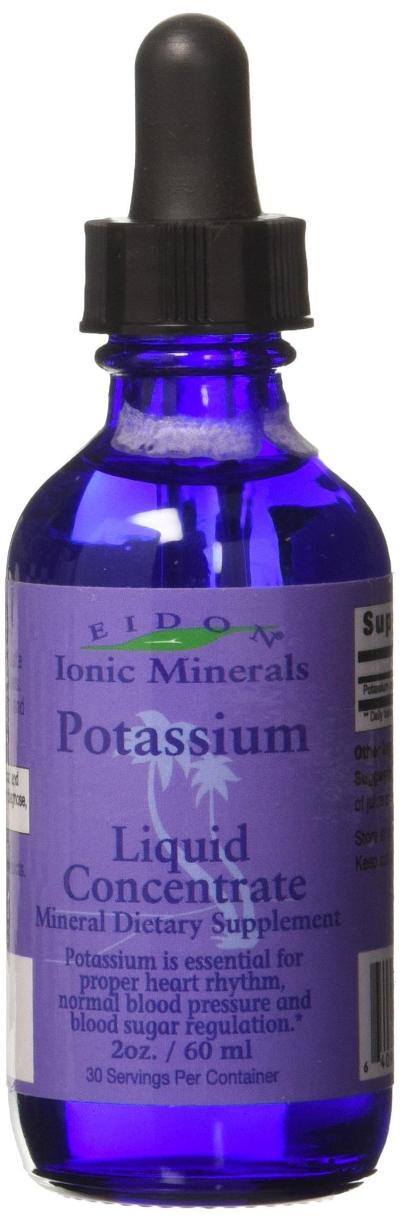 Eidon Potassium Mineral Supplement, 2 Ounce - Vitamins Emporium