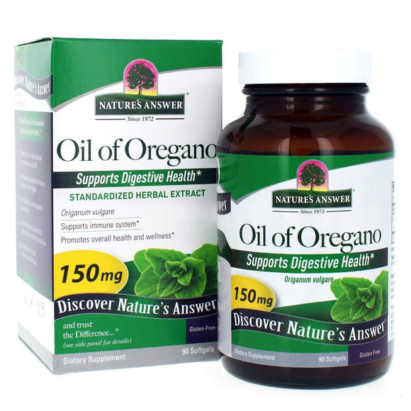 Nature's Answer Oil of Oregano Softgels, 90-Count - Vitamins Emporium