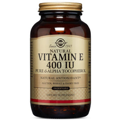Solgar - Vitamin E 400 IU Alpha, 250 Softgels