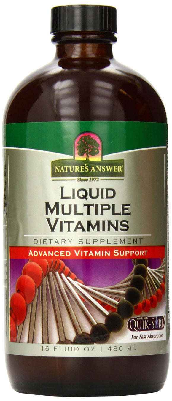Nature's Answer Multiple Vitamins, 16-Ounce (Frustration -Free Packaging) - Vitamins Emporium