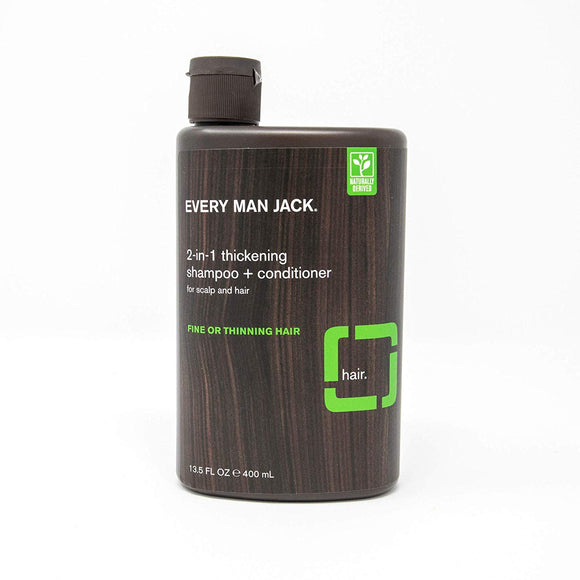 Every Man Jack 2-in-1 Daily Shampoo - Vitamins Emporium