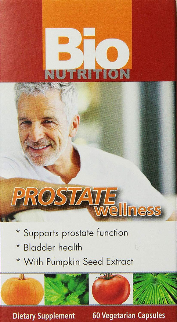 Bio Nutrition Prostate Wellness Vegi-Caps, 60 Count - Vitamins Emporium