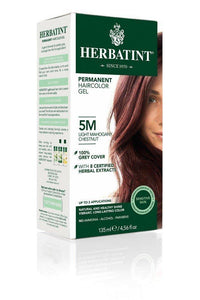 Permanent Haircolor Gel 5M Light Mahogany Chestnut 1 Box - Vitamins Emporium