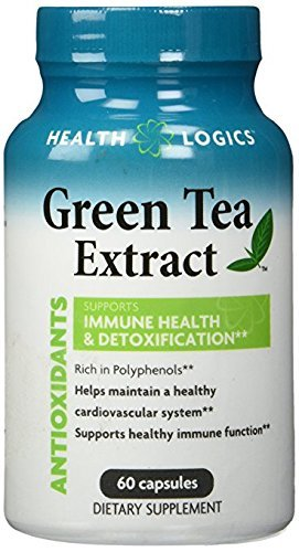 Health Logics Green Tea Extract Capsule, 60 Count - Vitamins Emporium