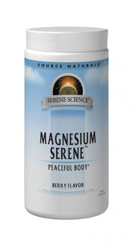 Source Naturals Serene Science Magnesium Serene Berry Flavored, Peaceful Body, 9 Ounces - Vitamins Emporium