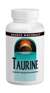Source Naturals Taurine 1000mg, 60 Capsules (Pack of 2) - Vitamins Emporium