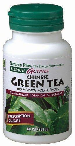 Chinese Green Tea Extract 400mg Nature's Plus 60 Caps - Vitamins Emporium