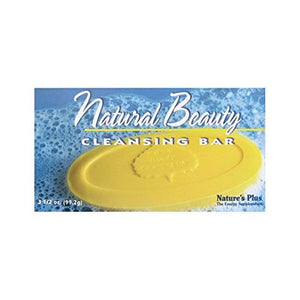 Nature's Plus - Natural Beauty Cleansing Bar, 3.5 Ounce - Vitamins Emporium