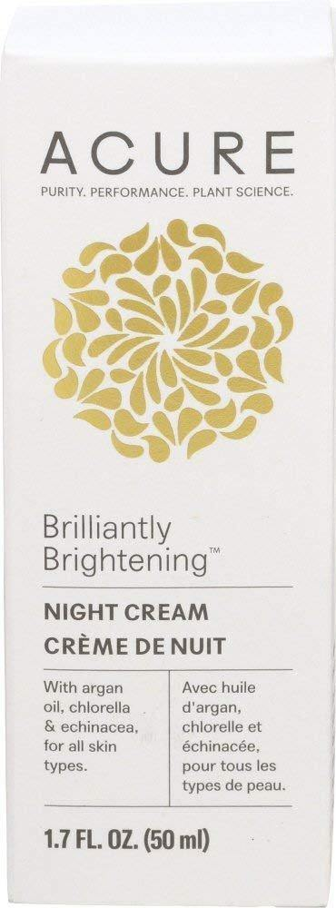 Acure Night Cream 1.7 Fl Oz - Vitamins Emporium