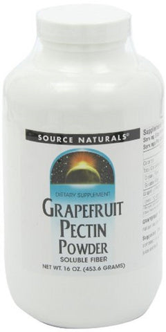 Source Naturals Grapefruit Pectin Powder, Natural Source of Soluble Fiber,4 Ounces