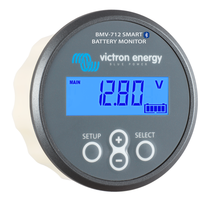 Victron BMV-712 Smart Grey Battery Monitor Angle