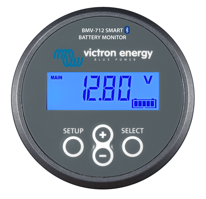 Victron BMV-712 Smart Grey Battery Monitor Front