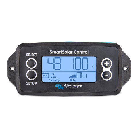 Victron Energy SmartSolar Control Display for SmartSolar MPPT Charge Controllers Front