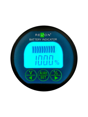 RELiON Battery Indicator display