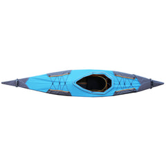 Deck in blue for Puffin Saco from Pakboats