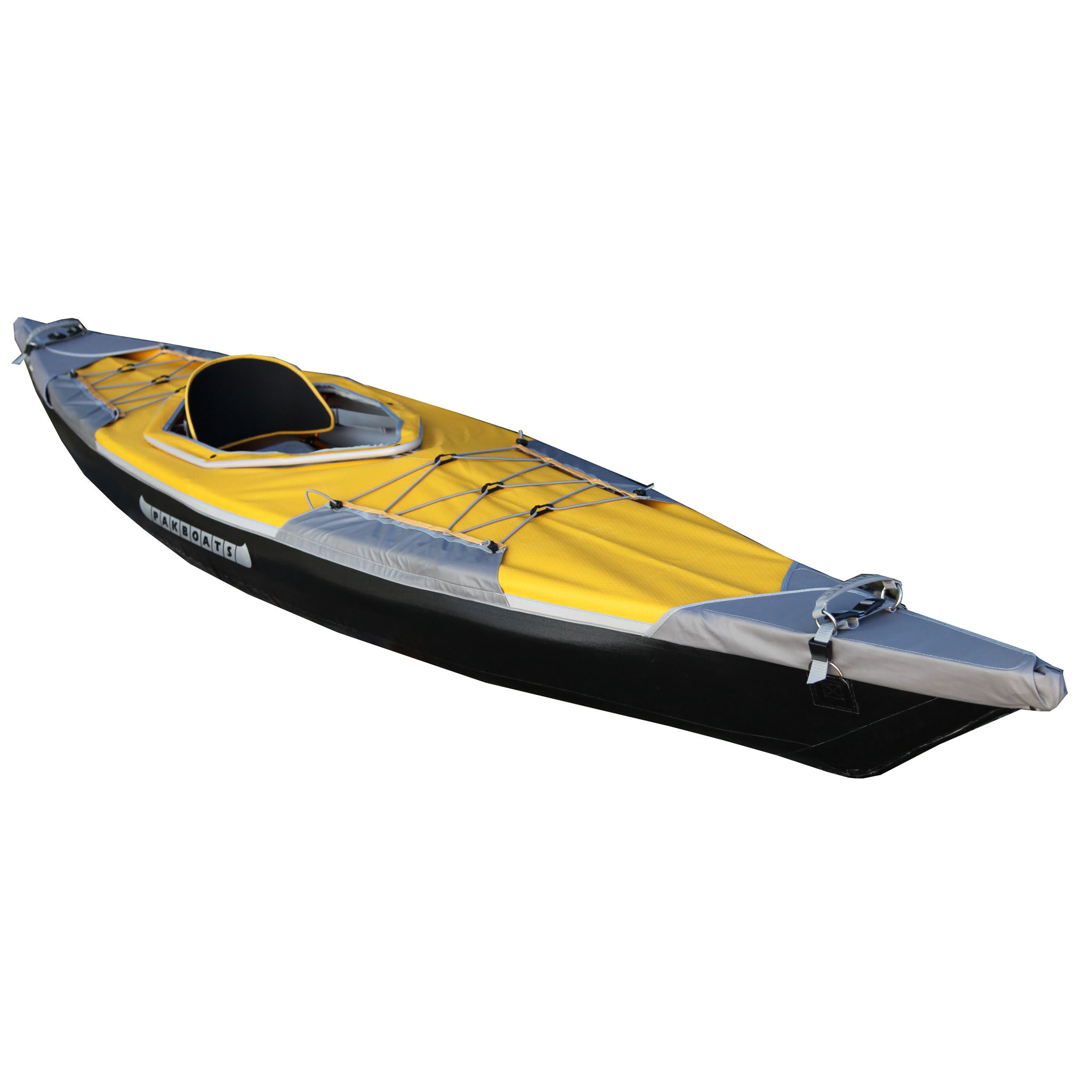Deck in yellow for Puffin Saco from Pakboats