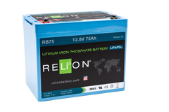 RB75 RELiON lithium battery 75Ah 12V