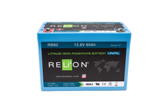 RB80 RELiON lithium battery 80Ah 12V