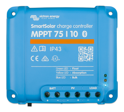 Victron Energy SmartSolar MPPT Charge Controller 75/10