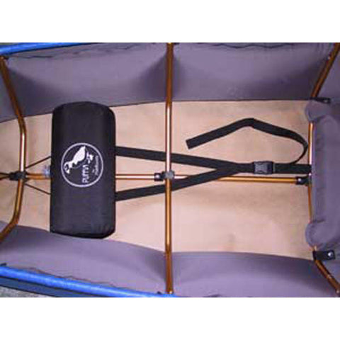 Inflatable foot rest for Puffin and XT kayaks from Pakboats