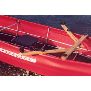 Rowing rig for PakCanoes from Pakboats