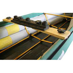 Triple Mount Board for Scotty Fishing Rod Holders from Pakboats sold by Wee Boats