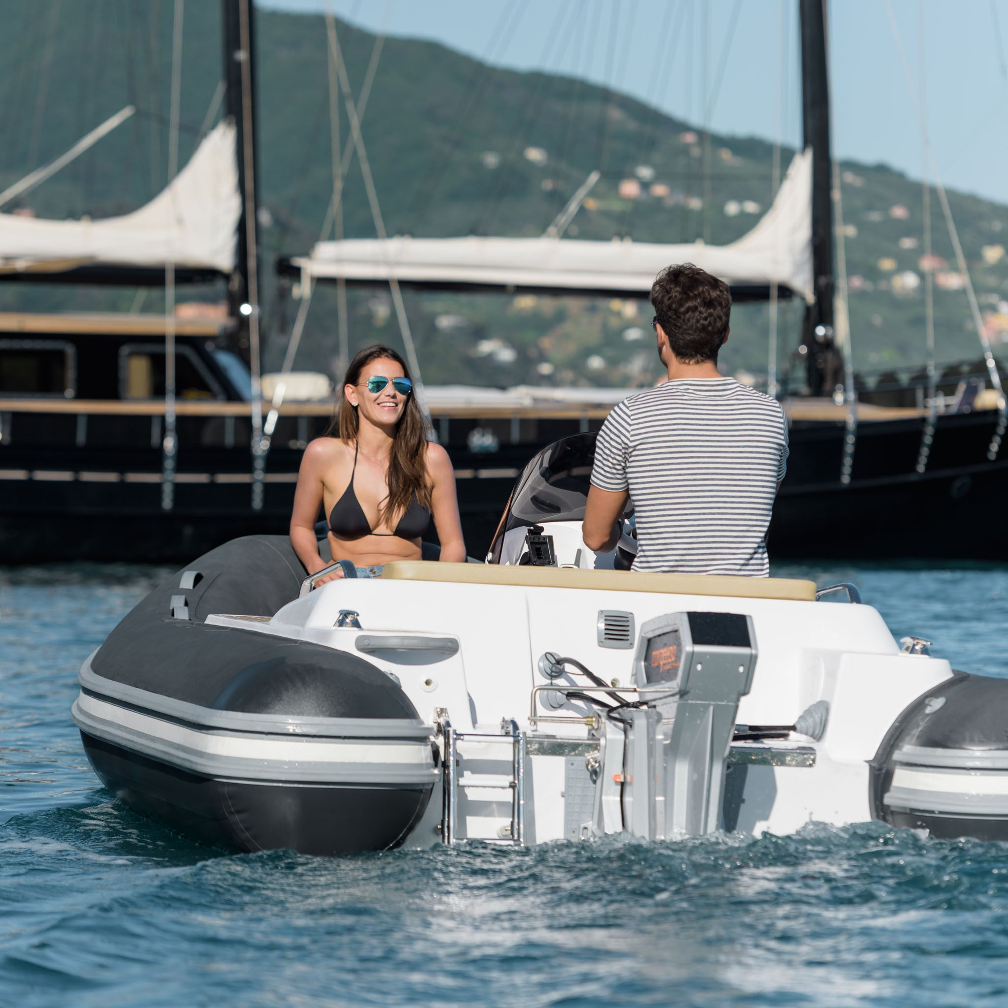 Torqeedo Cruise 10.0 Remote Electric Outboard Motor sold online at Wee Boats