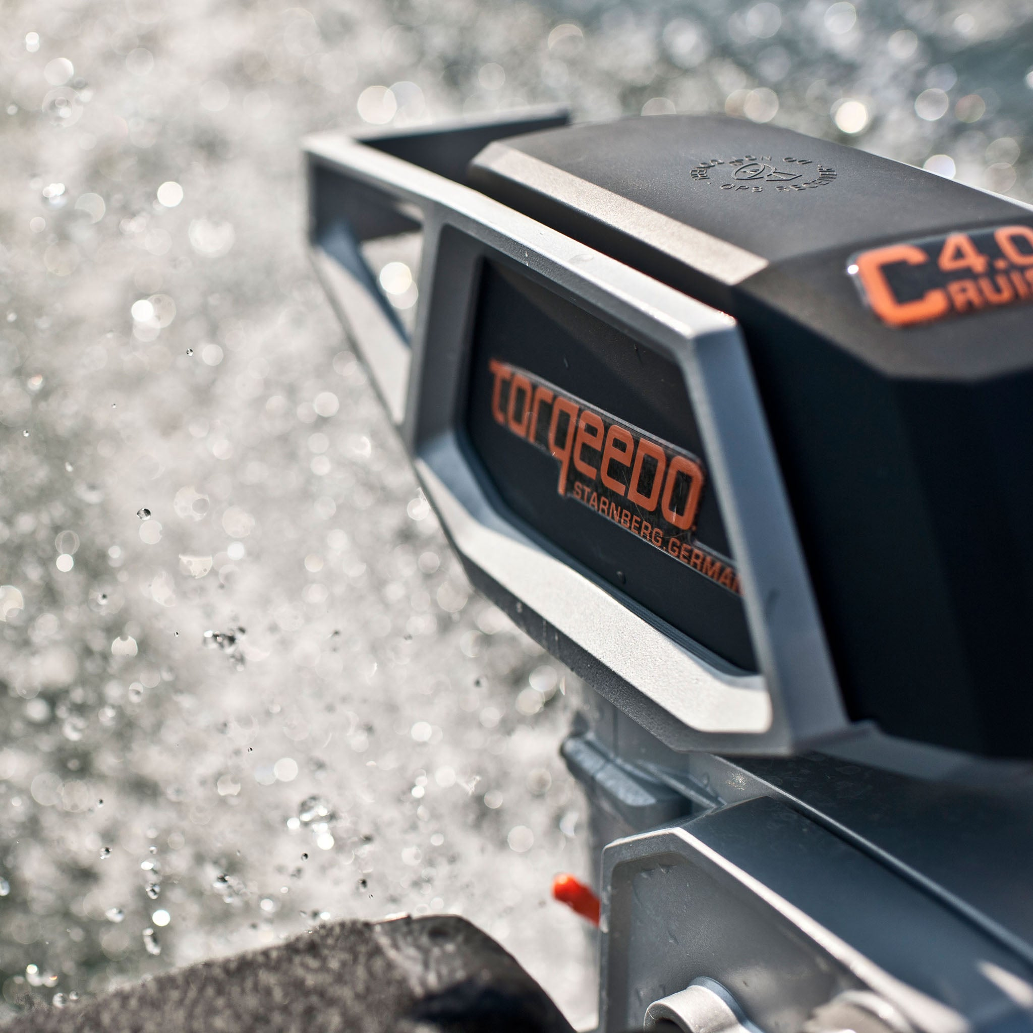 Torqeedo Cruise 4.0 Remote Electric Outboard Motor