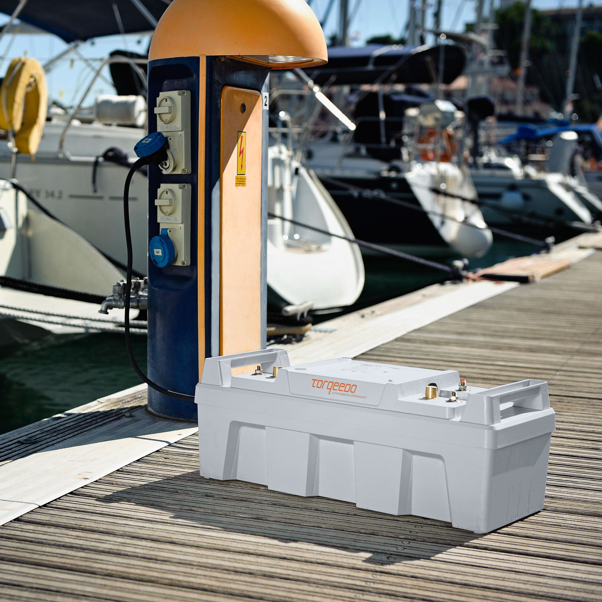 Torqeedo Power 26-104 High-performance Lithium Battery sold online at Wee Boats