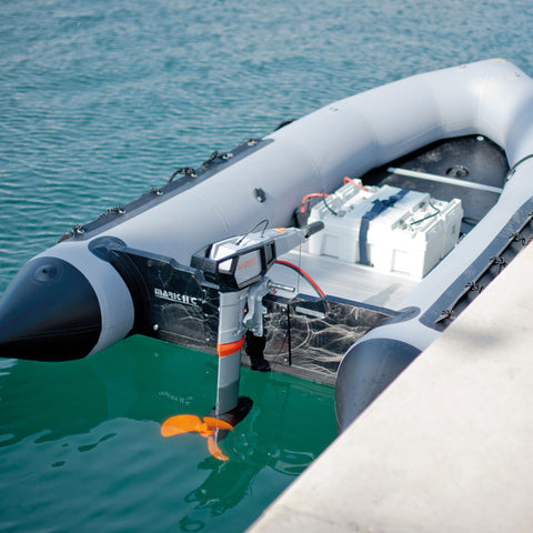 Torqeedo electric outboard package by Wee Boats