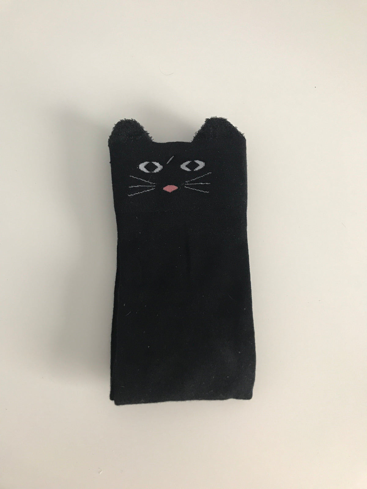 Black Cat Knee Socks