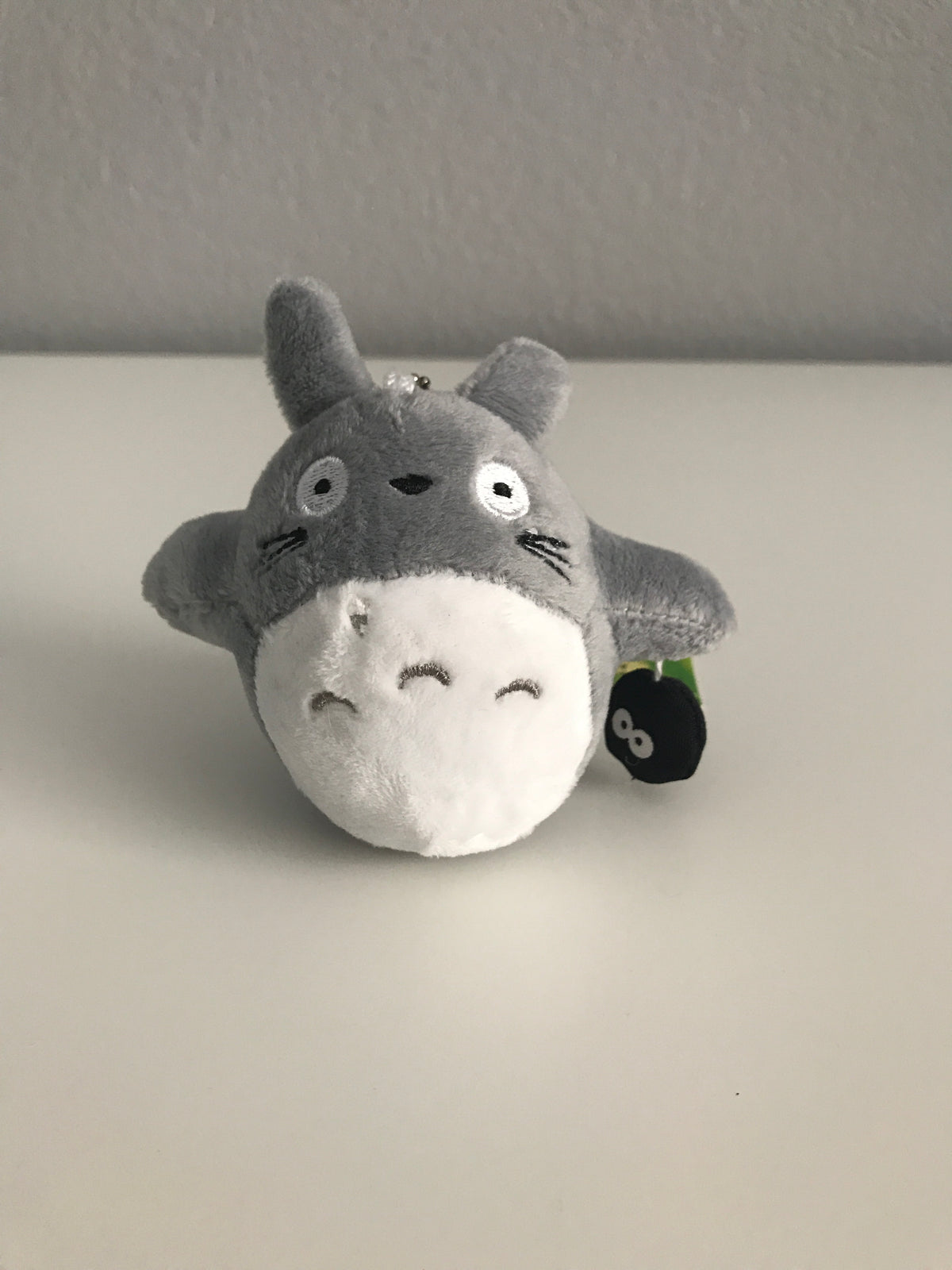 Mini Totoro Plushie with Soot