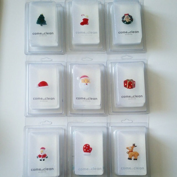 Set of 9 Christmas Soaps