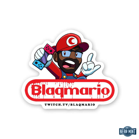 "Blaqmario ""Switch"" Die Cut Sticker"