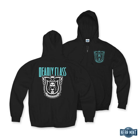 "Deadly Class ""School Seal"" Zip Hoodie"