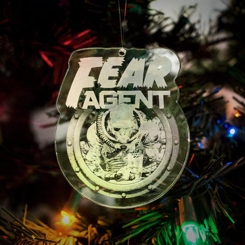 "Fear Agent ""Heath Huston"" Acrylic Ornament"