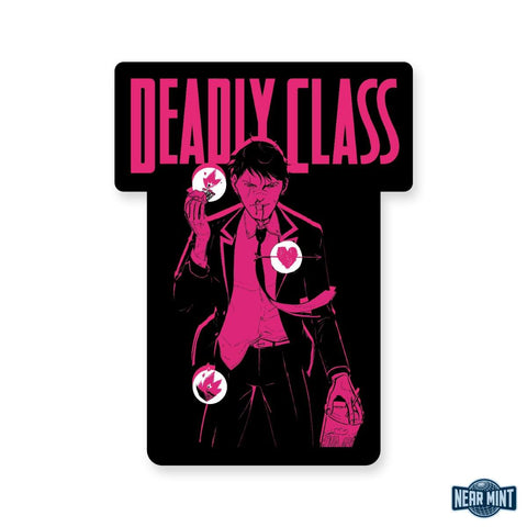 "Deadly Class ""Marcus"" Diecut Sticker"