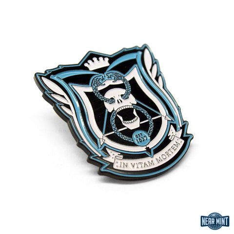 "Deadly Class ""School Seal Blue"" Pin"