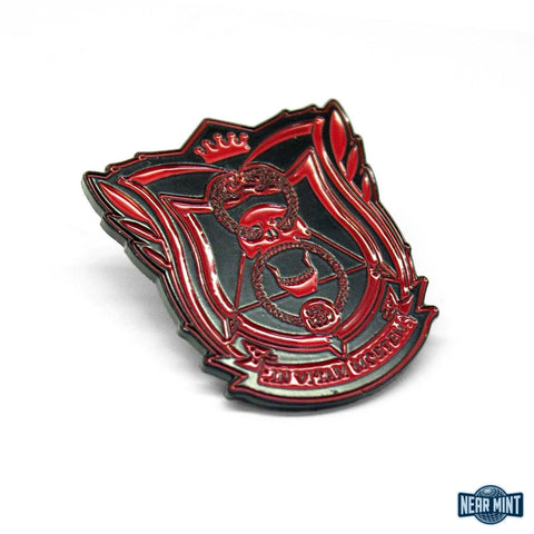 "Deadly Class ""School Seal Red"" Pin"