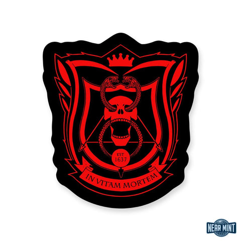 "Deadly Class ""School Seal"" Diecut Sticker"