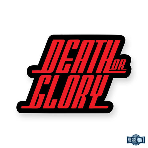 "Death or Glory ""DG Logo"" Sticker"