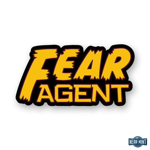 "Fear Agent ""Logo"" Diecut Sticker"