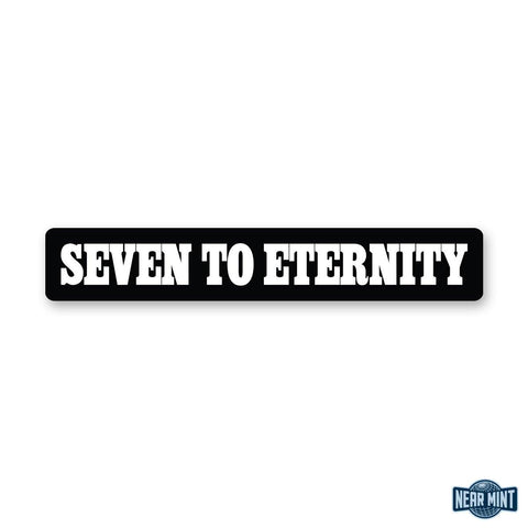 "Seven To Eternity ""Logo"" Diecut Sticker"