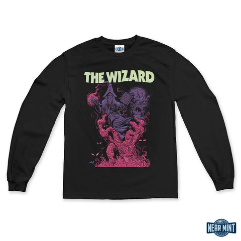 "Doom Vault ""Faded Wizard"" Long Sleeve"
