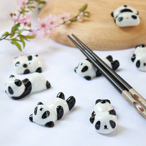 Panda Chopsticks Holder