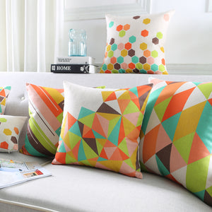 Geo Pillow Cases Collection
