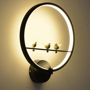 Birdie Wall Light Ring