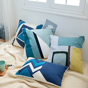Blu Onde Pillow Cases Collection