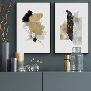 L'oro Abstract Painting