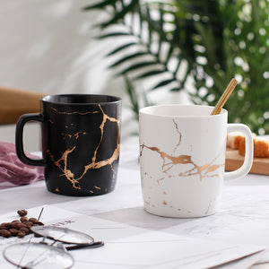 Electric Marble Mugs
